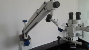 Surgical Dental Examination Microscope Portable 3 Step Magnification