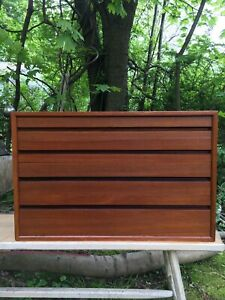 Cado Royal System Teak Cabinet Of Drawers Chest Danish Wall Unit Mcm