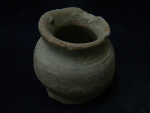 Ancient Teracotta Pot Indus Valley 1000 Bc Sg8843