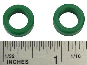 2pc Inductor Coil Green Toroid Ferrite Core Anti interference Pc40 14x9x5mm Usa