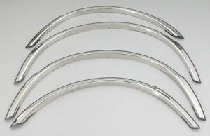 The Best Fender Trim For Audi 80 90 88 92 Stainless Steel High Polish Set 4