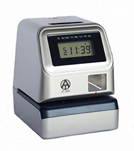 Allied Time Usa At 3000r Digital Time Clock And Date Stamp