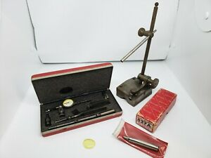 Starrett 711 Dial Test Indicator Gage Surface Indicator Stand