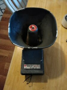 Federal Signal Selectone 300gc Horn speaker 24vdc a1