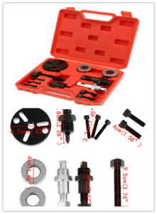 A C Compressor Clutch Remover Kit Puller Installer Auto Air Conditioning Tool