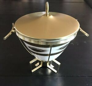 Fire King Fred Press Chafing Dish Mid Century Modern
