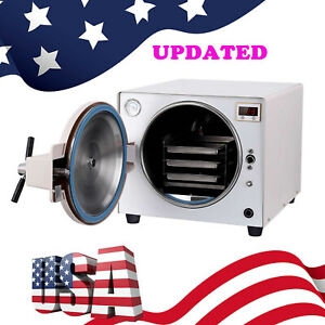 18l Updated Dental Autoclave Steam Sterilizer Medical Sterilization Labequipment