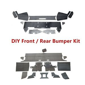 Diy Front Winch Bumper Or Rear Bumper Kit Metal For 1984 2001 Jeep Cherokee Xj