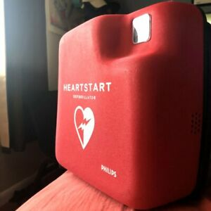Philips Heartstart Defibrillator Mobile Aed With Brand New Pads