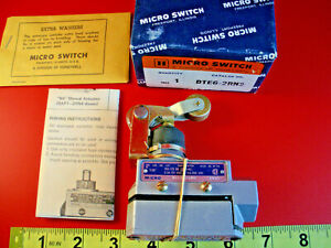 Honeywell Microswitch Dte6 2rn2 Limit Switch Roller Actuator Dte62rn2 New Nos