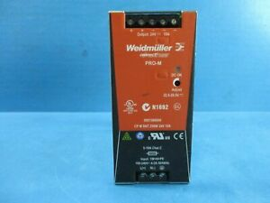 Weidmuller 8951360000 Power Supply Used