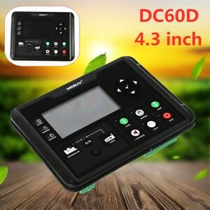 Dc60d Genset Controller For Diesel gasoline gas Genset With Mounting Screws