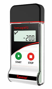 Temtop Mt2 Temperature Data Logger For Food Cold Chain Reusable Free Software