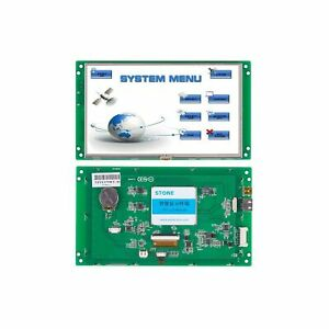 7 Inch Hmi Tft Lcd Display Programmable Logic Lcd Controller Touch Screen For