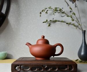 Good Clay Chinese Yixing Zisha Clay Handmade Hua Ying Teapot 240cc