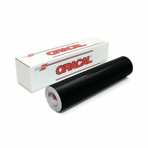 Oracal 651 Glossy Vinyl Roll 24 Inches By 150 Feet Black