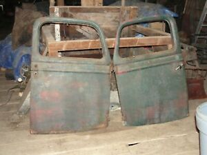 1935 1936 1937 Ford Pickup And Commercial Truck Doors And Seat