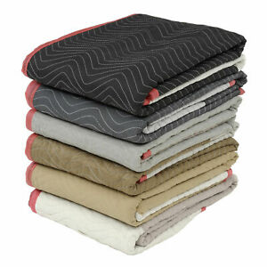 Protective Quilted Moving Blanket Pads Lot Of 12