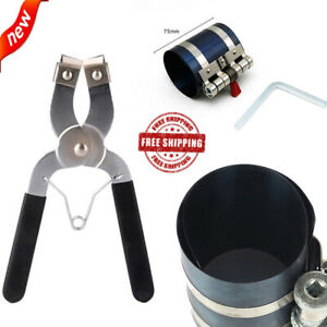 2pc Ratchet Style Piston Ring Compressor And Piston Ring Installer Pliers Us New