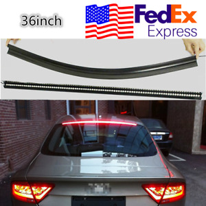 36 Red Led Car Suv Rear Window Roofline Brake Tail Stop Light Universal Usa 1x