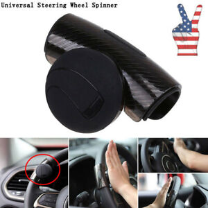 Us Car Truck Steering Wheel Aid Power Handle Assister Spinner Knob Ball Booster