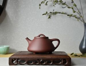 100 High End Clay Chinese Yixing Zisha Clay Handmade Ziye Shipiao Teapot