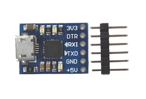 Cp2102 Micro Usb To Uart Ttl Module Serial Converter Programmer No 3 3v Output
