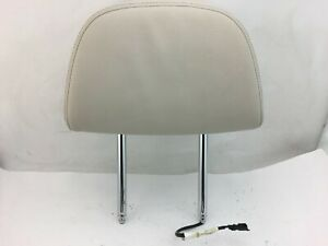 2014 2015 2016 2017 Bmw X5 Front Comfort Seat Headrest Ivory White Leather Oem