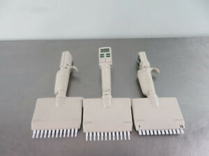 Rainin Edp3 Plus Multichannel Pipette Lot 20 And 200 Ul Lts Tips With Warranty