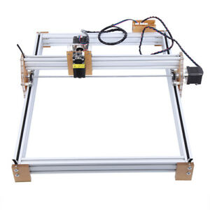 500mw Mini Laser Cutting Engraving Machine Printer Kit Desktop 40x50cm Area