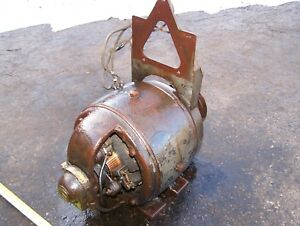 Old Fairbanks Morse Belt Driven Generator Dynamo Hit Miss Gas Engine Steam Motor