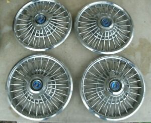 64 65 Ford Fairlane Falcon Galaxie Mustang Wire Wheel Cover Hubcap 3 Bar