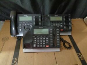 Lot Of 3 Toshiba Strata Dp5032 sd Business Display 20 button 2 Missing Headset