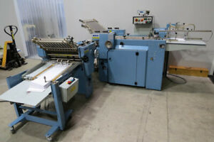 Mbo Paper Folder B20p 4 4 W 8 page 20 Pile Feed Baum 20 Stahl T49
