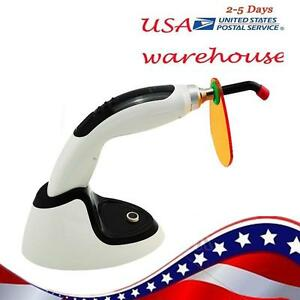 From Usa Wireless Led Dental Curing Light Lamp1800mw 10w teeth Whitening