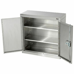 Wall Cabinet Stainless Steel 30 w X 12 d X 30 h Lot Of 1