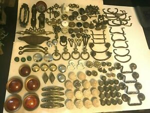 135 Old Antique Furniture Cabinet Cupboard Dresser Drawer Door Pull Knobs