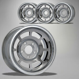 1976 1982 Corvette C3 15x8 Chrome Yj8 Wheels Set Of 4 642375