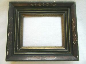 Antique Fits 8 X 10 Picture Frame Aesthetic Carved Eastlake Victorian Stencil