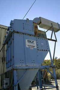 The Sly Mfg Co Cf 3 3 c 3000 Acfm Outdoor Cartridge Filter Type Dust Collector