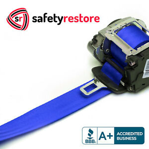 For Toyota Tacoma Blue Seat Belt Webbing Replacement Seatbelt Harness