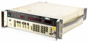 Hp agilent 8656b Industrial 0 1 990mhz Synthesized Signal Generator Unit
