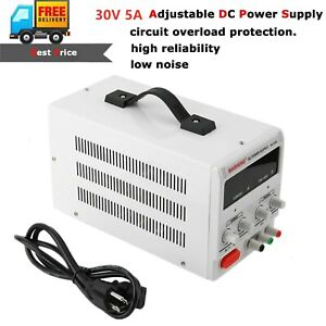 30v 5a Adjustable Power Supply Variable Linear Dual Digital Precision Lab Test