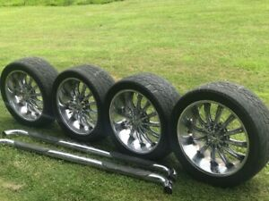 22 Inch Rims And Step Rails