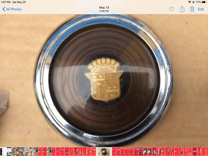 1941 Cadillac Horn Button Nice Drivers Quality