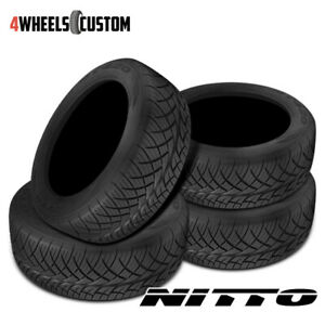 4 X New Nitto Nt420s 275 55 20 117h Suv All season Traction Tire