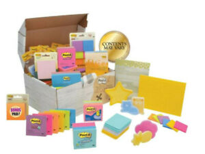 Post it Treasure Chest Of Notes Assorted Colors 10 Lb Box 10 000 Sheets