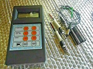 Fw Bell 4048 Gauss tesla Meter With Probes Case Powers Up Working