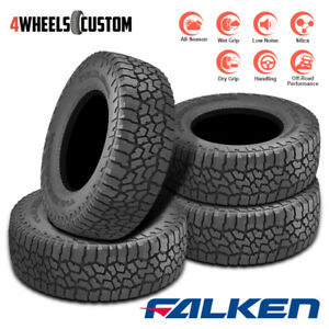 4 X New Falken Wild Peak At At3w 275 60r20 115t All Season All Terrain Tires