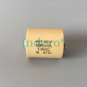 1pcs Ht57 Ccht57 100pf 15kvdc N750 High Voltage Ceramic Dielectric Capacitor